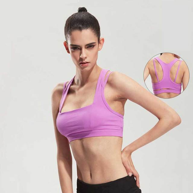 Heal Orange Gym Sport Bra Top Brand Top Fitness Women Sport Bra Top Soutien Gorge Sport Yoga Tops Yoga Bra Women's Clothing