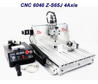 Turning Lathe Cnc Machining 6040 Cnc Router 6040Z S65J 3 Axis 800W Work For Wood Marble