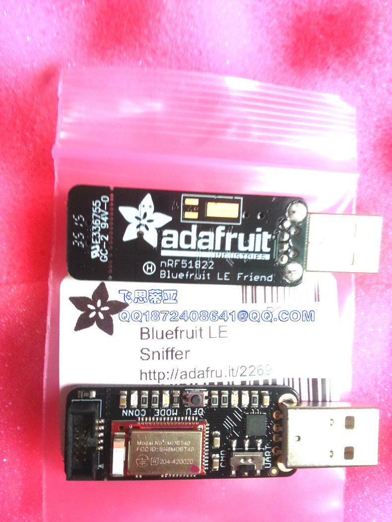 2267 Bluetooth Low Energy//BLE 4.0 Adafruit bluefruit le Friend v3 nrf51822