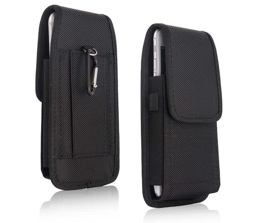 "Luxe Sport Holster Riemclip Pouch Taille Case Cover Tas Shell Voor Multi Telefoon 5.1/5.5 inch (ook fit sommige 5.9 ""telefoon)"
