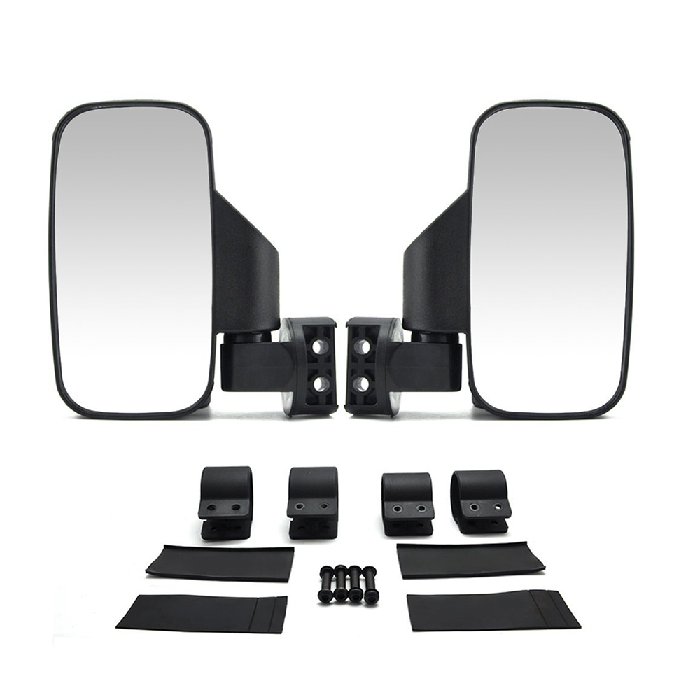 1 75 2 UTV mirror Side Rearview Mirrors for Polaris RZR 800 900 1000 For Can