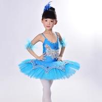 Hot Kids Dancewear Ballet Clothes Children Performance Costume Gymnastics Dance Dress Leotard Skate Professional Ballet Tutus