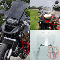 Мотоцикл Высокое качество для BMW R 1200 GS 2005 2006 2008 2012 2011 2010 2009 2007 MOTO лобовое стекло ветровые стекла с Поддержка рамки