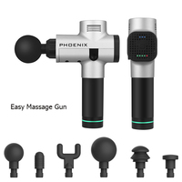 24V Theragun Relaxation Vibrating Deep Electronic Therapy Body Muscle for Gun Massager Physiotherapy Massage for Relieving Pain