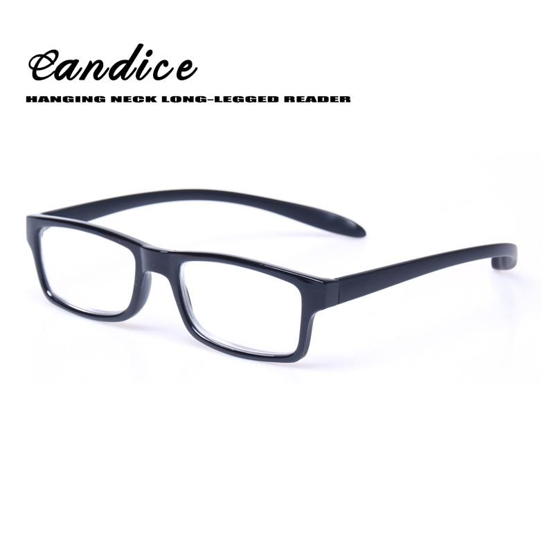 Leesbrillen Geweldige prijs kwaliteit Presbyopie bril voor mannen & vrouwen Metalen scharnier Opknoping hals leeswijzer met lange poten voor lezen