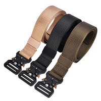 Multi Functional Belts Tactics special forces belt sports canvas nylon male youth smooth buckle Outdoor belt