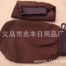 100 шт./лот Хаммам скраб рукавицей магия пилинг перчатки отшелушивающий Ванна перчатки коричневого цвета Марокко скраб перчатки