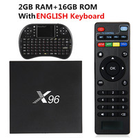 New X96 TV Box 2GB 16GB Android 6 0 Smart TV Box Amlogic S905X Quad Core