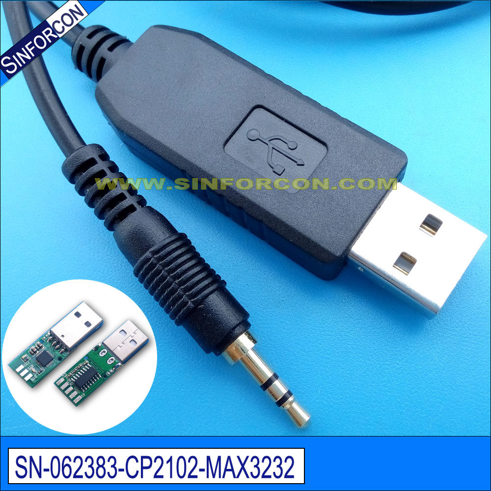 Online Shop Db9 Rs232 To Rj45 Console Cable Cab Cisco Wiring Diagram Sinforcon Win8 10 Android Mac Cp2102 Usb Serial Adapter With 25mm Jack