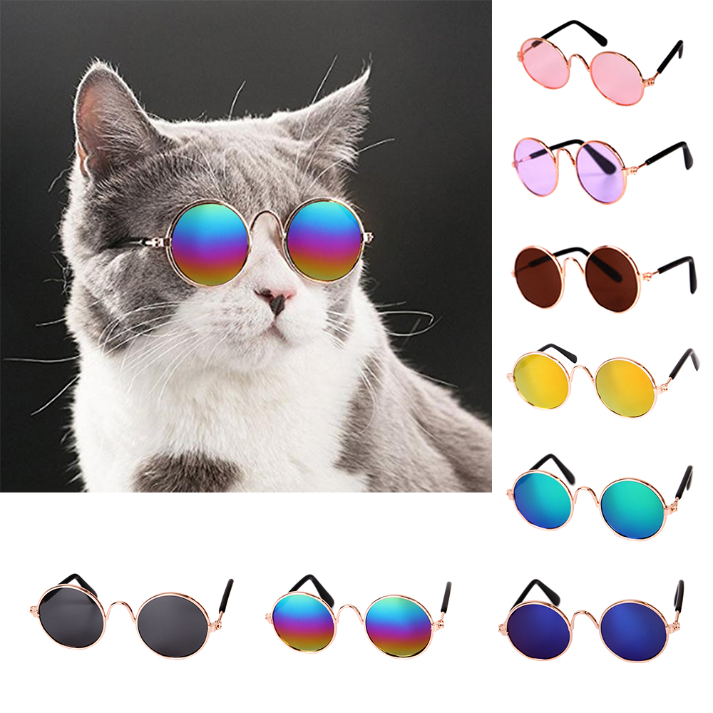 Sunglasses Props-Accessories Pet-Products Eye-Wear Cat Pet Photos Top-Selling Dog