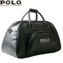 020411 Bags Polo New Golf Clothing Shoes Bag Man Waterproof PU Bag Bolsas Zapatos Shoulder Golf Apparel Bag Large Capacity