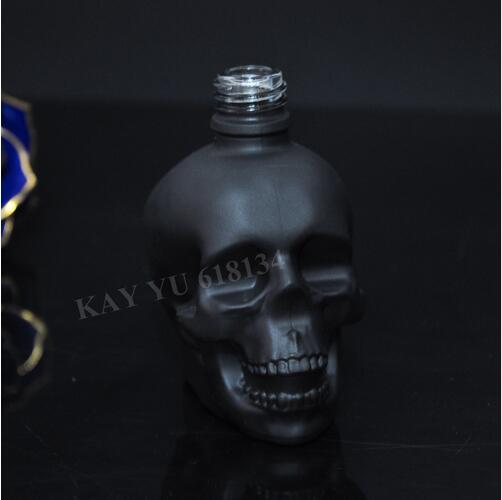 Fast shipping 2 pcs 30ml matte black skull glass dropper bottle with childproof and tamper evidet lid 20pcs 30ml plastic dropper bottle eye drop empty bottle with childproof cap and long tip for e liquid bottle fast shipping