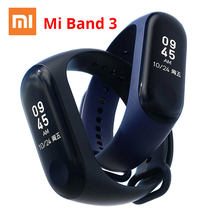 Xiao mi mi band 3 Mi band 3 instant bericht smart Band Horloge Caller Id Waterdicht Oled TOUCH Screen HART rate Monitor Armband(China)