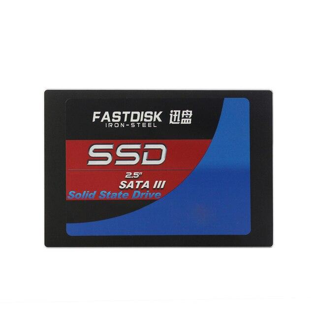FASTDISK SATA 30 ГБ 60 ГБ 120 ГБ 128 ГБ 256 ГБ внутренние Твердотельные Диски SSD Жесткий Диск HDD 2.5 Дюймов для Ноутбука Desktop High Speed
