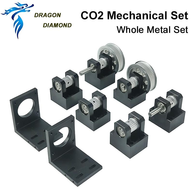 CO2 Laser pièces métalliques Transmission modèle B composants mécaniques pour bricolage CO2 Laser gravure Machine de découpe - 2