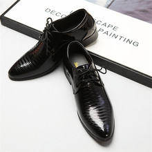 Classic Men Dress Shoes Leather Wingtip Carved Italian Formal Oxford Plus Size PU Leather Business Shoes Office Luxury Shoes new