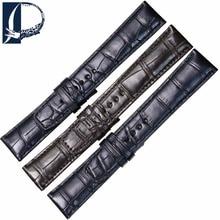 Pesno For Man Watch 18mm 20mm 22mm Genuine Crocodile Leather Wristband Alligator Skin Watchband for Baume & Mercier