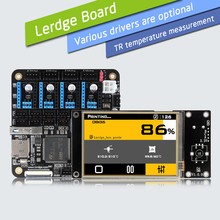 """LERDGE 3D Drukarki Zarządu ARM 32Bit Kontroler Sterowania Płyta Główna Płyta Główna dla Drukarki 3D z 3.5 """"Ekran Dotykowy TFT Zestaw Diy"""