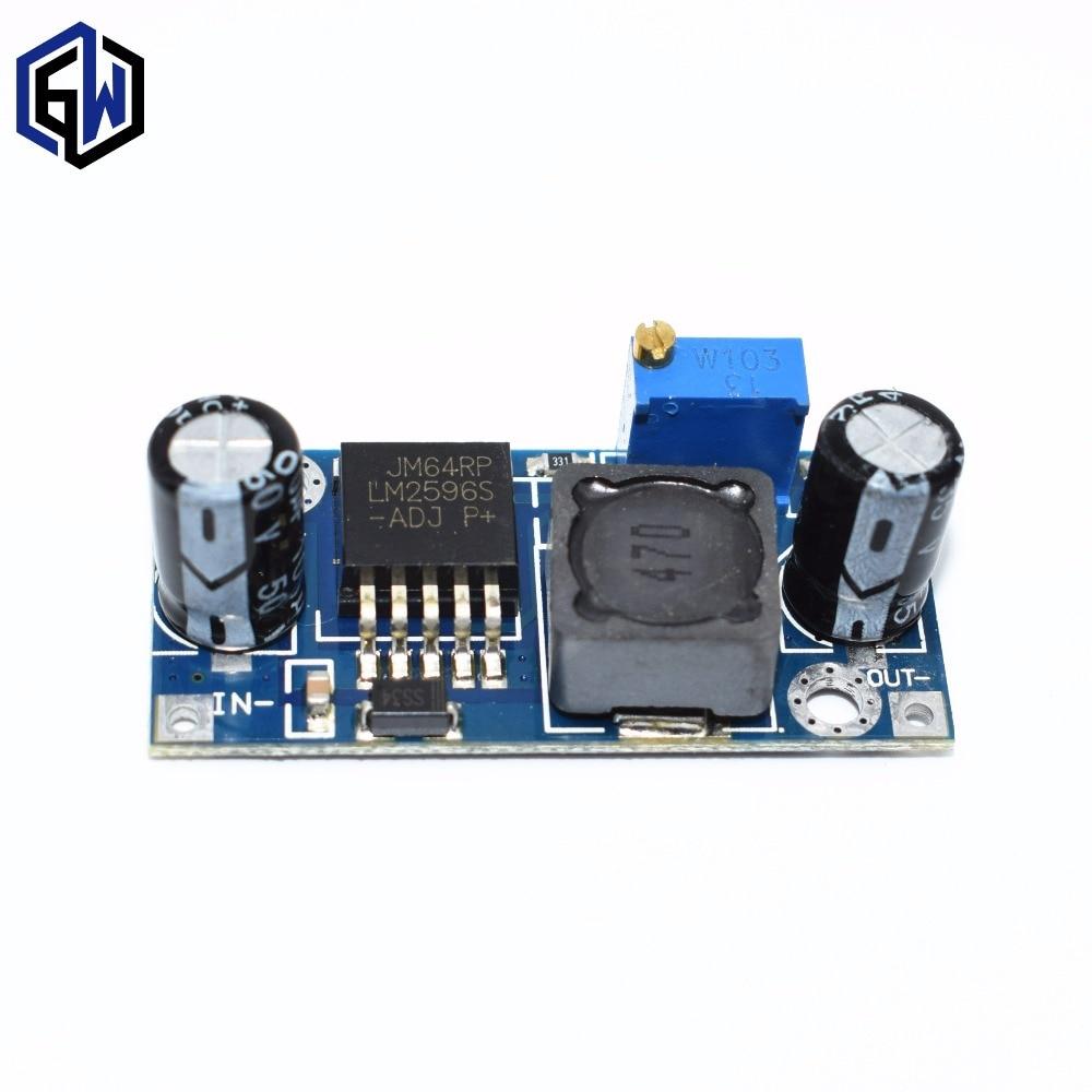 Hot Item 50pcs Lot Lm2596s Lm2596 Dc Step Down Module 5v 12v 24v Switching Regulator On Voltage Schematic Adjustable 3a Sale