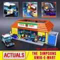 Лепин 16004 Симпсон KWIK-E-MART Модели Строительные Блоки Кирпич Модель Сборки Игрушки Совместим С 71016