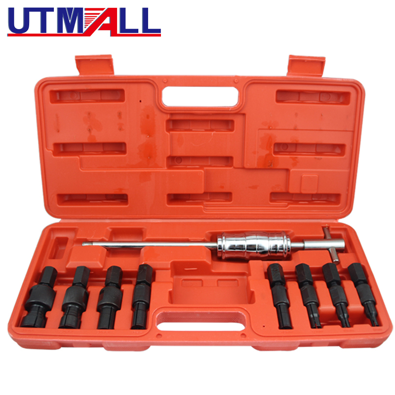 9PCS Blind Inner Bearing Puller Tool Set Kit Bearing Removal Installer Tool Set (8MM, 10MM, 12MM, 15MM..)