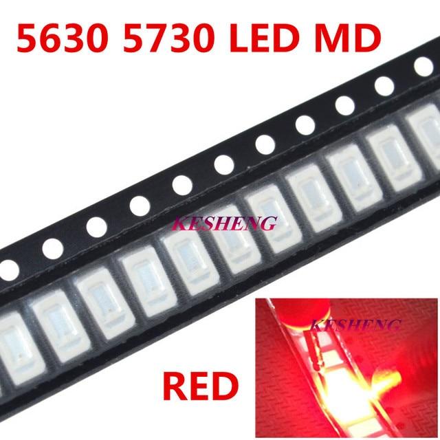 200pcs 5730 White/WARM WHITE/RED/GREEN/BLUE/YELLOW Light SMD 5730 LED chip lamps 3.2~3.4V