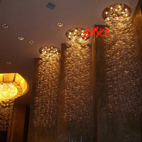 D100cm/h300cm современный Murano Due Пузырь Стекло Потолочные светильники для Спальня Lampara LED подвеска домашний Гостиная потолочный светильник