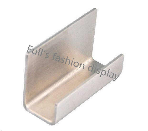 Us 71 16 20 Off Moderne Edelstahl Visitenkartenhalter Name Kartenhalter Notizhalter Display Ständer Satin Finish Luxus Desktop Ständer Fall In