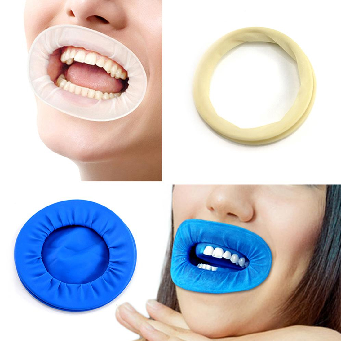 Dental Disposable Retractor Rubber Dam Rubber Sterile Oral Cheek Expanders Mouth Opener Oral
