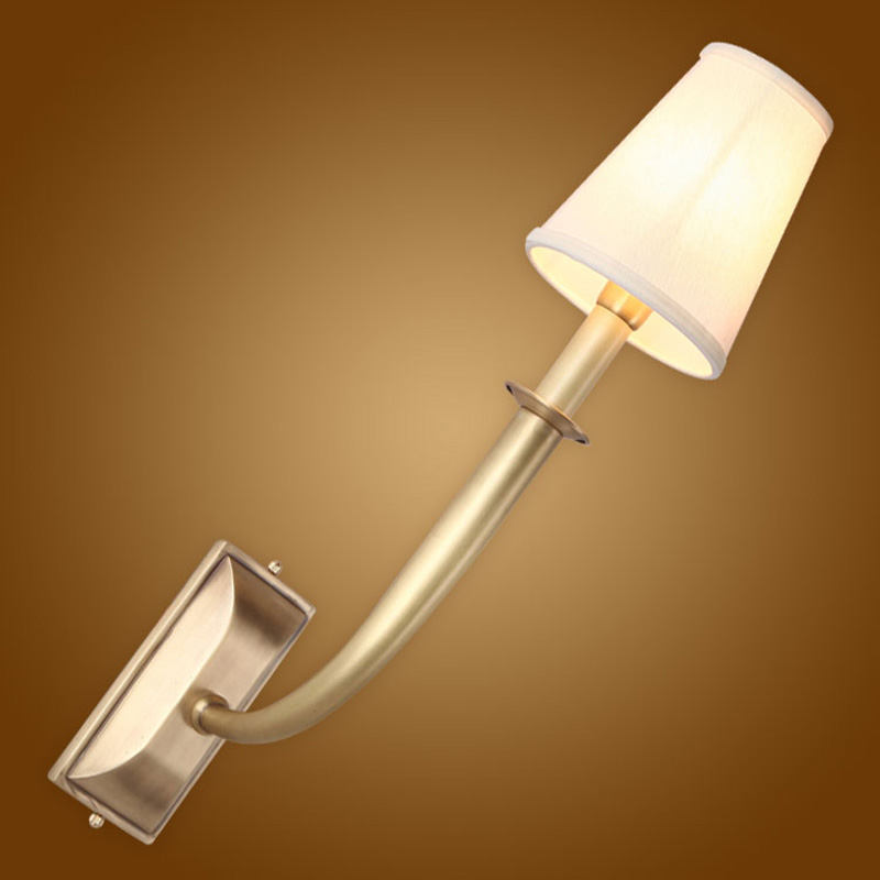 Led Lamps Led Indoor Wall Lamps Modern Copper Wall Light E14 5w Led Lamp 2 Arm Bathroom Bedroom Glass Lampshade Wall Lamp Modern Sconce Lights Lamparas De Pared
