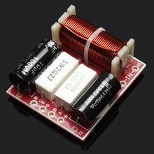 1 unids 2 way crossover divisor de frecuencia tweeter/altavoz del coche del altavoz woofer 50 W para Kasun