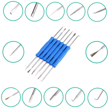 Tools - Tool Parts - ELECALL 6pcs/lot Steel Solder Assist Aids Tool Set Repair Tool Set Electronic Components Welding Grinding Cleaning Tools