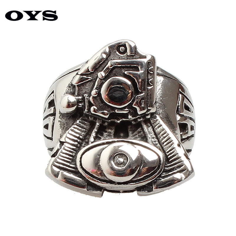 Mens Stainless Steel Motorcycle Engine Ring Newest Fashion Punk Jewelry Biker Ring Trendy Jewelry for Men