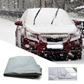 2016 Free shipping New 240 x 150cm Car Windscreen Cover Magnetic PEVA Cotton Anti Snow Frost Ice Cotton Window Mirror Protector