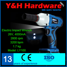 rechargeable electric wrench impact wrench Lithium electric wrench The wind cannon machine installation tools scaffolder LY100