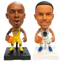 153f4a85d989b 1pcs basketball star dolls NBA Player Star Kobe Bryant Durant Curry LeBron  James 2.5