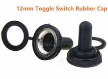 10 Pcs 12mm New Waterproof Switch Cap 15A 250VAC / 20A 125VAC E TEN Rubber Cap Miniature Toggle Switches