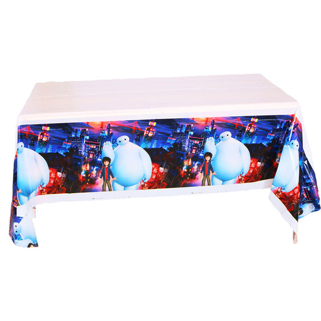 Beau New Arrival PE Table Cloth Big Hero 6 Design Kids Party Supplies Baymax Table  Cover Baby
