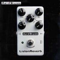 Aural Dream 8 Mode Reverb Spring Plate Gate Reverse Room Hall Chapel church digital Electric guitar effects pedal Post rock Loop