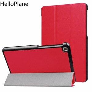 Чехол для планшета LG G Pad 4 8,0 P530 GPad X2 V530 V533 FHD GPad4, трехскладной откидной держатель-книжка, кожаный чехол