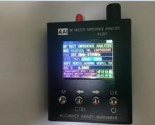 N1201SA 140 MHz 2.7 GHz nowa angielska wersja z instrukcją Enlish UV RF wektor impedancja ANT SWR analizator antenowy miernik Tester
