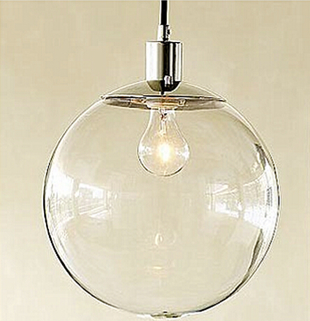 Simple retro modern pendant lights with white glass ball lamp simple retro modern pendant lights with white glass ball lamp shade in 1 source kitchen light mozeypictures Gallery