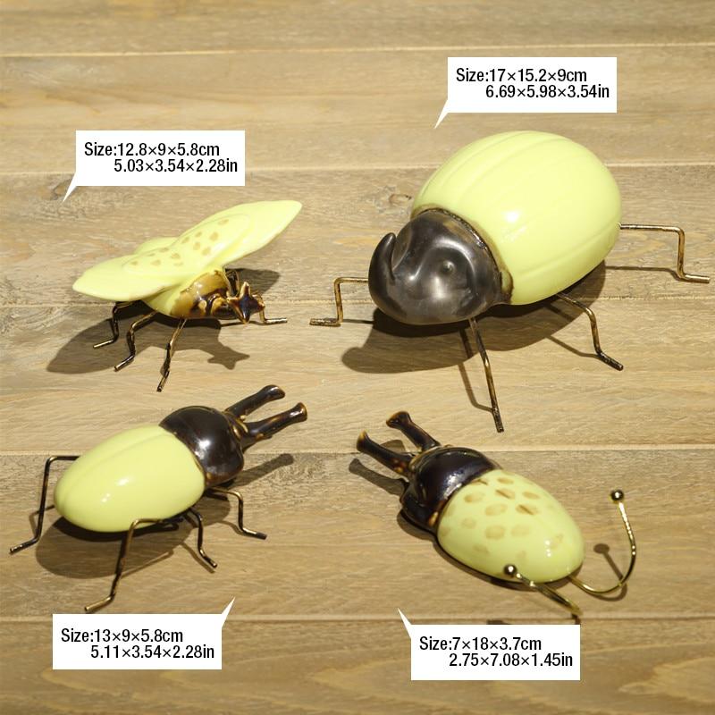 Beetle Larvae Ladybug Decor Garden Vase Decor Animal Beetle Ladybug