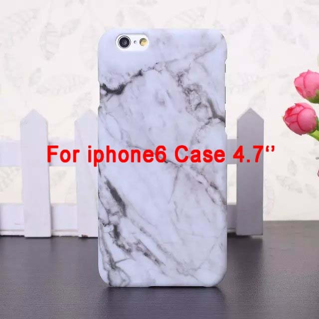 i5/i6/6P Fashion Phone Cases For iPhone 5 Case Marble Stone image Painted Cover For iphone5 5S 6 6S / Plus New Screen Protector