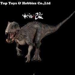 1/35 dinosaurio PVC Animal modelo Bereserker Rex figura-berserker raptor indominus Rex 170035 170011 dragón con cuernos