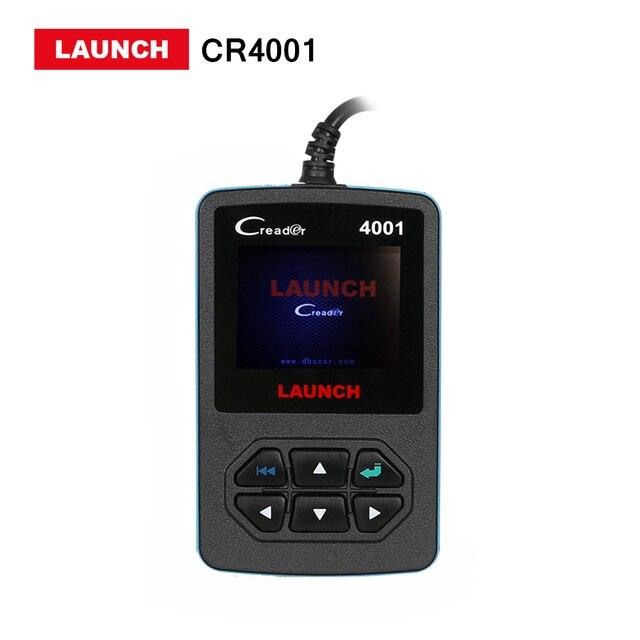 Launch X431 Creader 4001 OBD2 OBDII Code Reader scanner Multi-Language CR4001 CR 419 diagnostic Specific DTCs free update online