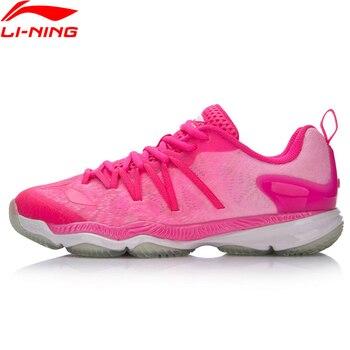 Li-Ning mujeres profesional Ranger zapatos de bádminton zapatillas  transpirable de deporte portátil cojín forro Zapatos de deporte AYAM022  XYY071 d9ec9652524f0
