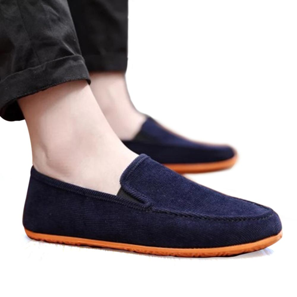 Men Shoes 2018 Fashion Casual Shoes Lightweight Breathable Slip-on Summer Loafers Ultra thin Soft bottom bespoke mens goodyear welted shoes handmade custom pointed brock head layer cowhide free shipping red brown dress shoe