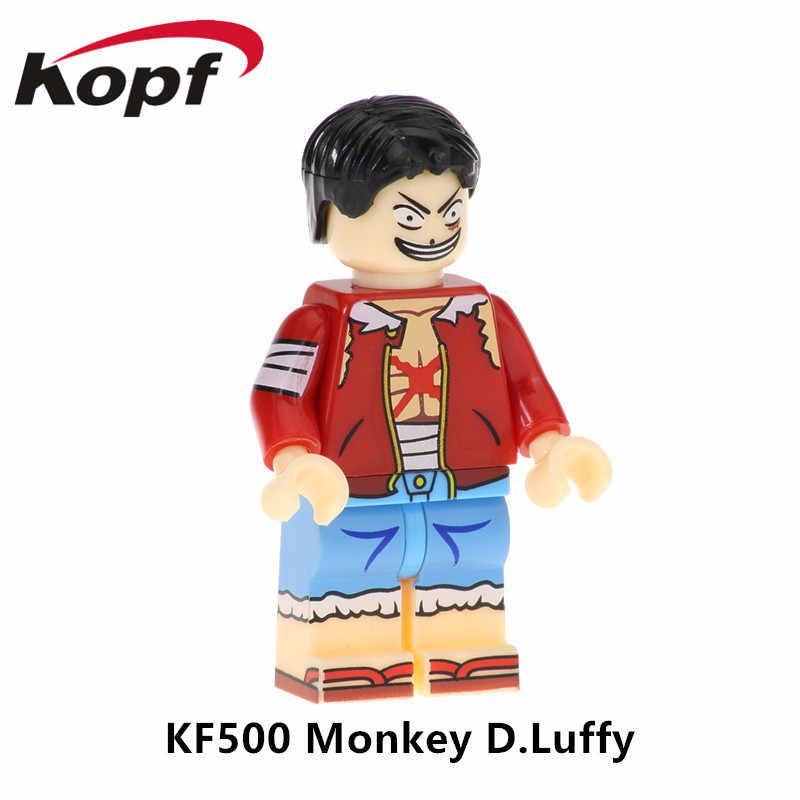 KF508 Супер Герои строительные блоки модель фигурки Tony Chopper Usopp Сабо крокодил экшн-кирпичики для детей игрушки