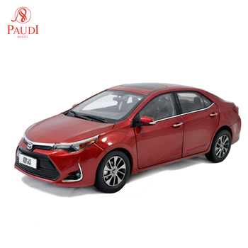 1/18 1:18 Scale Toyota Levin 2017 Red Static Simulation Diecast Alloy Model Car Gifts Collections